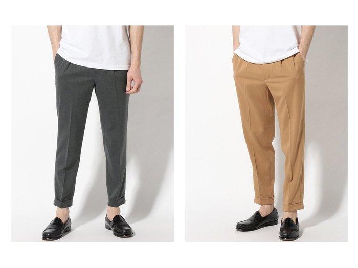 【EDIFICE / MEN/エディフィス】のCARREMAN TR 1P easy PT 【MEN】おすすめ!人気トレンド・男性、メンズファッションの通販 おすすめ人気トレンドファッション通販アイテム 人気、トレンドファッション・服の通販 founy(ファニー) ファッション Fashion メンズファッション MEN ボトムス Bottoms Men ジーンズ スタンダード ストレッチ プリーツ |ID:crp329100000025193