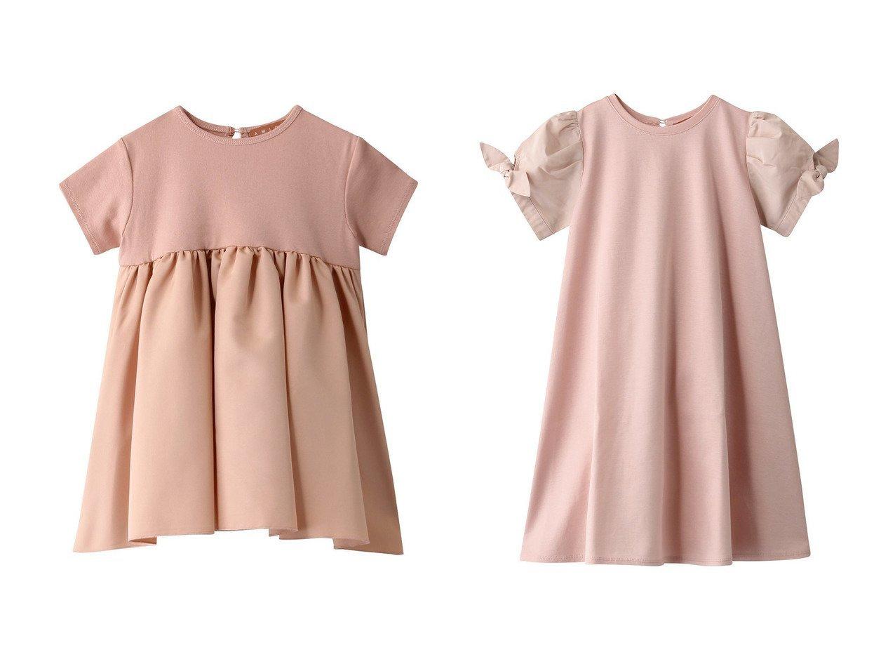 【AMICA / KIDS/アミカ】の【Baby&Kids】リボンドレス&【Baby&Kids】バレリーナドレス 【KIDS】子供服のおすすめ!人気トレンド・キッズファッションの通販 おすすめで人気の流行・トレンド、ファッションの通販商品 メンズファッション・キッズファッション・インテリア・家具・レディースファッション・服の通販 founy(ファニー) https://founy.com/ ファッション Fashion キッズファッション KIDS ワンピース Dress Kids トップス カットソー Tops Tees Kids 2021年 2021 2021 春夏 S/S SS Spring/Summer 2021 S/S 春夏 SS Spring/Summer グログラン ジャージ チュニック ドレス 春 Spring  ID:crp329100000025197