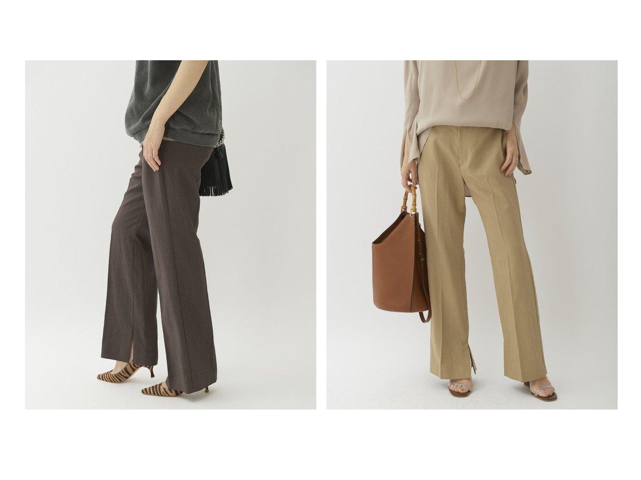 【Plage/プラージュ】のスラブサイドスリットパンツ パンツのおすすめ!人気、トレンド・レディースファッションの通販 おすすめで人気の流行・トレンド、ファッションの通販商品 メンズファッション・キッズファッション・インテリア・家具・レディースファッション・服の通販 founy(ファニー) https://founy.com/ ファッション Fashion レディースファッション WOMEN パンツ Pants 2021年 2021 2021 春夏 S/S SS Spring/Summer 2021 S/S 春夏 SS Spring/Summer スリット フレア 再入荷 Restock/Back in Stock/Re Arrival |ID:crp329100000025260