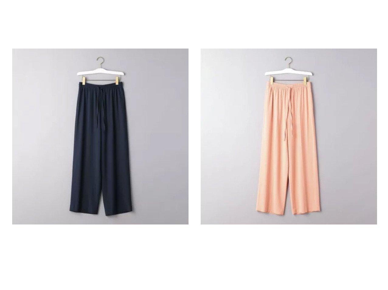 【UNITED ARROWS/ユナイテッドアローズ】のUBC BIANCO ドローストイングパンツ パンツのおすすめ!人気、トレンド・レディースファッションの通販 おすすめで人気の流行・トレンド、ファッションの通販商品 メンズファッション・キッズファッション・インテリア・家具・レディースファッション・服の通販 founy(ファニー) https://founy.com/ ファッション Fashion レディースファッション WOMEN パンツ Pants イタリア センター バランス ワイド |ID:crp329100000025262