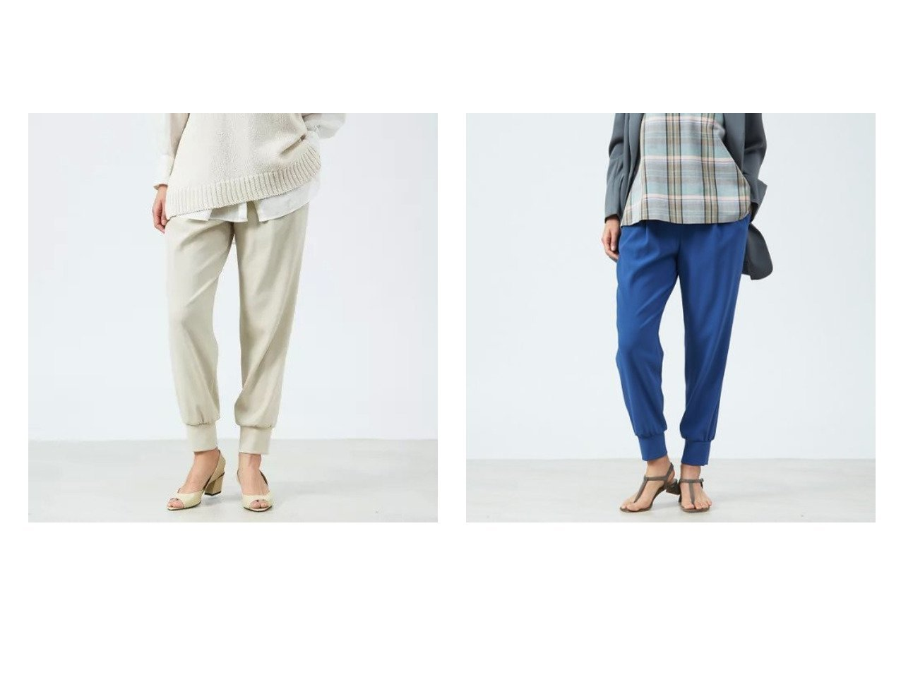 【qualite/カリテ】のジョーゼットドロストジョグパンツ パンツのおすすめ!人気、トレンド・レディースファッションの通販 おすすめで人気の流行・トレンド、ファッションの通販商品 メンズファッション・キッズファッション・インテリア・家具・レディースファッション・服の通販 founy(ファニー) https://founy.com/ ファッション Fashion レディースファッション WOMEN パンツ Pants A/W 秋冬 AW Autumn/Winter / FW Fall-Winter おすすめ Recommend スポーティ ドレープ フィット ワーク 春 Spring |ID:crp329100000025264