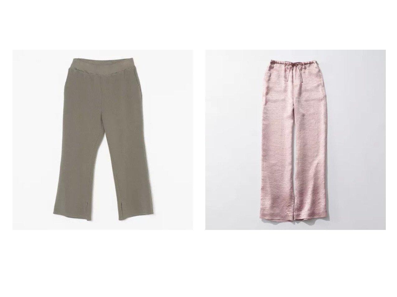 【Americana/アメリカーナ】のオールドリブスリットパンツ&【Shinzone/シンゾーン】のSATIN PANTS パンツのおすすめ!人気、トレンド・レディースファッションの通販 おすすめで人気の流行・トレンド、ファッションの通販商品 メンズファッション・キッズファッション・インテリア・家具・レディースファッション・服の通販 founy(ファニー) https://founy.com/ ファッション Fashion レディースファッション WOMEN パンツ Pants ギャザー サテン パジャマ ボトム リラックス 洗える |ID:crp329100000025266