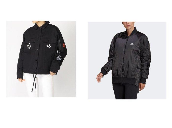 【adidas Originals/アディダス オリジナルス】のバレンタインデー ジャケット アディダスオリジナルス&【adidas/アディダス】のVRCT パデッドジャケット VRCT Padded Jacket スポーツ・ヨガウェア、運動・ダイエットグッズなどのおすすめ!人気ファッション通販 おすすめ人気トレンドファッション通販アイテム 人気、トレンドファッション・服の通販 founy(ファニー)  ファッション Fashion レディースファッション WOMEN アウター Coat Outerwear コート Coats ジャケット Jackets NEW・新作・新着・新入荷 New Arrivals グラフィック ジャケット スポーツ ツイル ドローコード フィット ポケット ミックス 手描き サテン |ID:crp329100000025272
