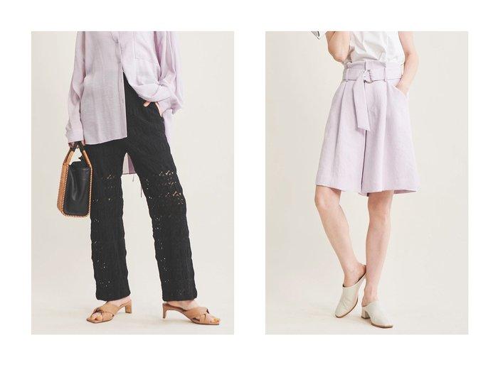 【The Virgnia/ザ ヴァージニア】のバルファスレースパンツ&カラーショートパンツ パンツのおすすめ!人気、トレンド・レディースファッションの通販 おすすめファッション通販アイテム インテリア・キッズ・メンズ・レディースファッション・服の通販 founy(ファニー) https://founy.com/ ファッション Fashion レディースファッション WOMEN パンツ Pants ハーフ / ショートパンツ Short Pants 2021年 2021 2021 春夏 S/S SS Spring/Summer 2021 S/S 春夏 SS Spring/Summer ショート ジャケット セットアップ フレア 春 Spring |ID:crp329100000025286