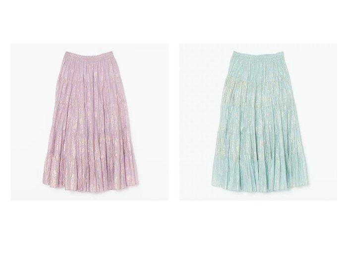 【NE QUITTEZ PAS/ヌキテパ】のGOLD FLOWER PRINT SKIRT スカートのおすすめ!人気、トレンド・レディースファッションの通販 おすすめ人気トレンドファッション通販アイテム 人気、トレンドファッション・服の通販 founy(ファニー) ファッション Fashion レディースファッション WOMEN スカート Skirt インド 洗える シンプル ティアードスカート ドローストリング プリント マキシ モダン リラックス ロング おすすめ Recommend |ID:crp329100000025304