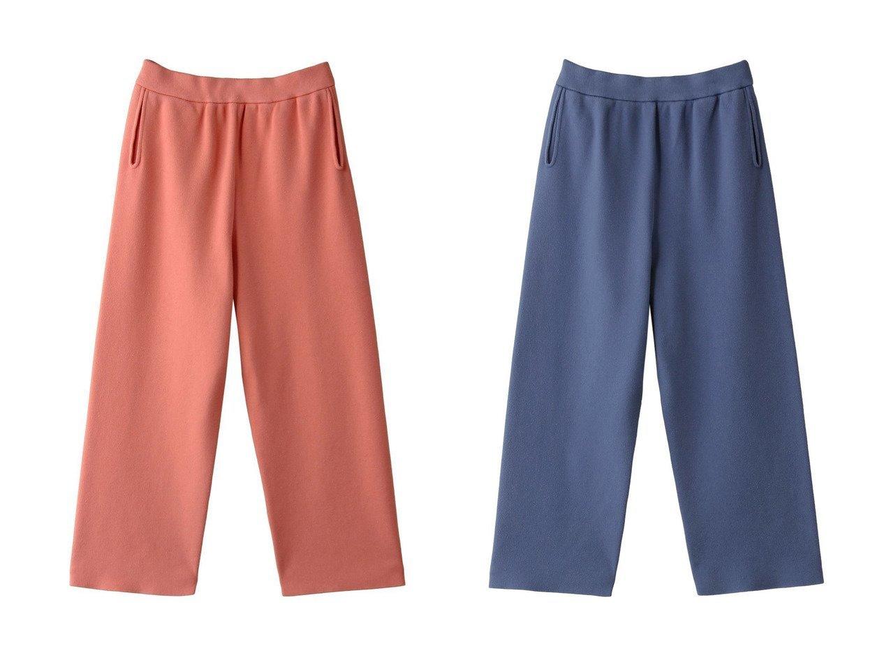【JAMAIS VU/ジャメヴ】のSUVIN オゾン加工コットンニットパンツ パンツのおすすめ!人気、トレンド・レディースファッションの通販 おすすめで人気の流行・トレンド、ファッションの通販商品 メンズファッション・キッズファッション・インテリア・家具・レディースファッション・服の通販 founy(ファニー) https://founy.com/ ファッション Fashion レディースファッション WOMEN パンツ Pants 2021年 2021 2021 春夏 S/S SS Spring/Summer 2021 S/S 春夏 SS Spring/Summer なめらか クロップド リラックス ワイド 定番 Standard 春 Spring |ID:crp329100000025326