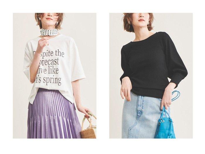 【The Virgnia/ザ ヴァージニア】のロゴプリントT&ボリュームスリーブリブカットソー トップス・カットソーのおすすめ!人気、トレンド・レディースファッションの通販 おすすめファッション通販アイテム レディースファッション・服の通販 founy(ファニー) ファッション Fashion レディースファッション WOMEN トップス カットソー Tops Tshirt シャツ/ブラウス Shirts Blouses ロング / Tシャツ T-Shirts カットソー Cut and Sewn ボリュームスリーブ / フリル袖 Volume Sleeve 2021年 2021 2021 春夏 S/S SS Spring/Summer 2021 S/S 春夏 SS Spring/Summer インナー ショート ジャケット スリーブ プリント 定番 Standard 春 Spring |ID:crp329100000025361