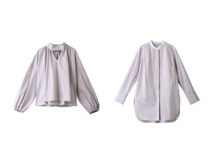 【ebure/エブール】のメイフェアコットン フレアブラウス&メイフェアコットン ボザムロングブラウス トップス・カットソーのおすすめ!人気、トレンド・レディースファッションの通販 おすすめファッション通販アイテム レディースファッション・服の通販 founy(ファニー) ファッション Fashion レディースファッション WOMEN トップス カットソー Tops Tshirt シャツ/ブラウス Shirts Blouses 2021年 2021 2021 春夏 S/S SS Spring/Summer 2021 S/S 春夏 SS Spring/Summer イタリア スリット スリーブ ロング 春 Spring |ID:crp329100000025378
