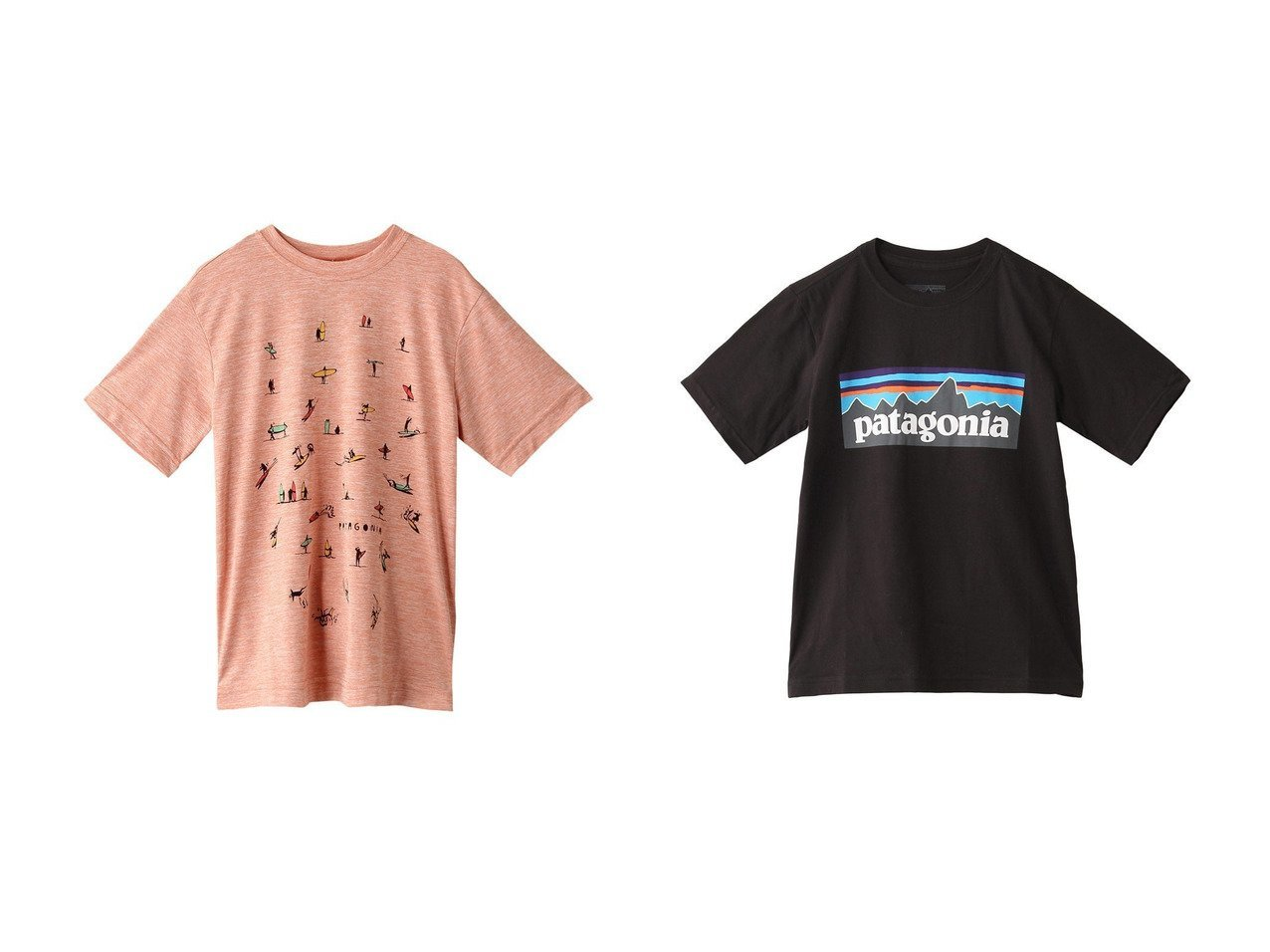 【patagonia / KIDS/パタゴニア】の【KIDS】Boys キャップクールデイリーTシャツ&【KIDS】Boys P-6 ロゴオーガニックTシャツ 【KIDS】子供服のおすすめ!人気トレンド・キッズファッションの通販  おすすめで人気の流行・トレンド、ファッションの通販商品 メンズファッション・キッズファッション・インテリア・家具・レディースファッション・服の通販 founy(ファニー) https://founy.com/ ファッション Fashion キッズファッション KIDS トップス カットソー Tops Tees Kids 2021年 2021 2021 春夏 S/S SS Spring/Summer 2021 S/S 春夏 SS Spring/Summer フィット 春 Spring |ID:crp329100000025389