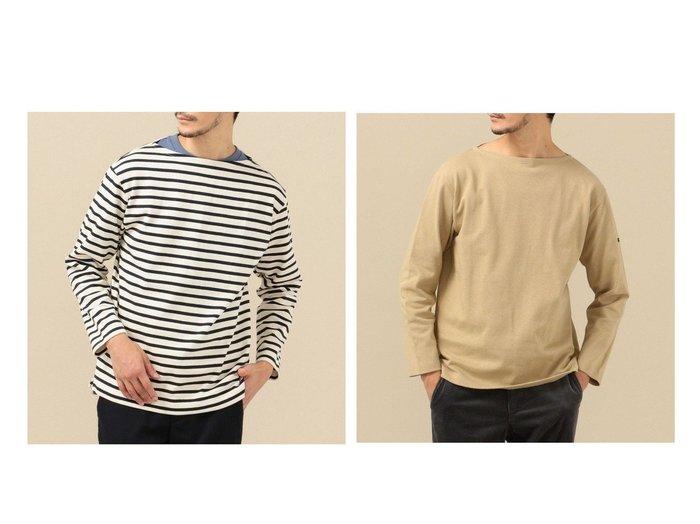 【SHIPS / MEN/シップス】のSC BUGIS ボートネック ロングスリーブ カットソー (バスクシャツ) (ロンT) 【MEN】おすすめ!人気トレンド・男性、メンズファッションの通販 おすすめファッション通販アイテム レディースファッション・服の通販 founy(ファニー)  ファッション Fashion メンズファッション MEN トップス カットソー Tops Tshirt Men シャツ Shirts ロング / Tシャツ T-Shirts インナー カットソー シンプル スタンダード スリーブ 定番 Standard バスク フィット フランス ボックス ボーダー 無地 ルーズ ロング |ID:crp329100000025404