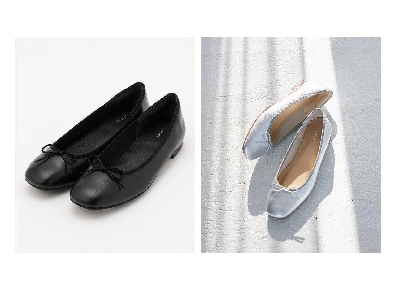【J.PRESS/ジェイ プレス】の【高反発】スクエアトゥ バレエシューズ 【シューズ・靴】おすすめ!人気、トレンド・レディースファッションの通販 おすすめで人気の流行・トレンド、ファッションの通販商品 メンズファッション・キッズファッション・インテリア・家具・レディースファッション・服の通販 founy(ファニー) https://founy.com/ ファッション Fashion レディースファッション WOMEN インソール クッション シューズ バレエ フィット フラット 再入荷 Restock/Back in Stock/Re Arrival  ID:crp329100000025455