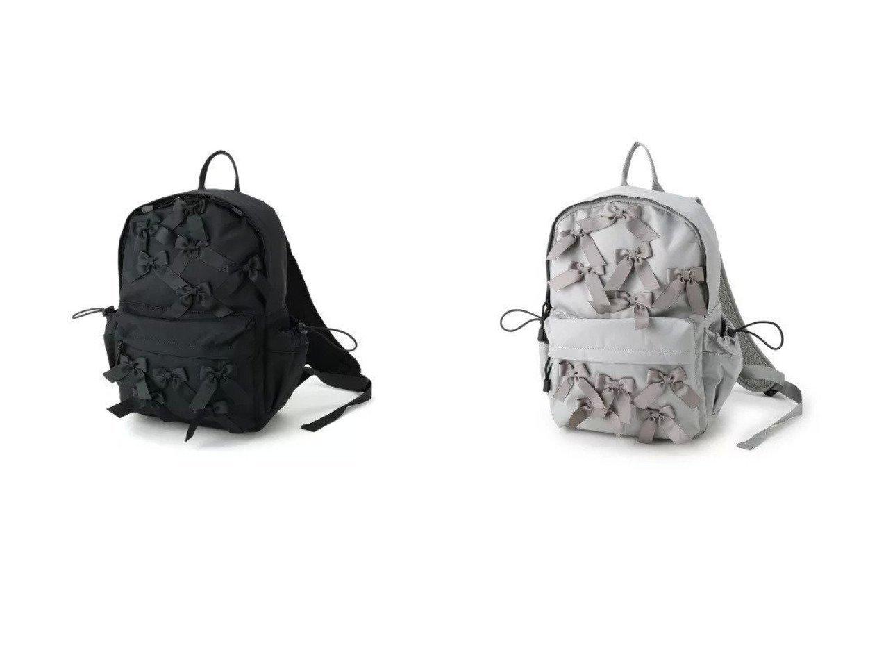 【Couture Brooch/クチュール ブローチ】の【メニーリボンシリーズ】メニーリボンリュック 【バッグ・鞄】おすすめ!人気、トレンド・レディースファッションの通販 | レディースファッション・服の通販 founy(ファニー)