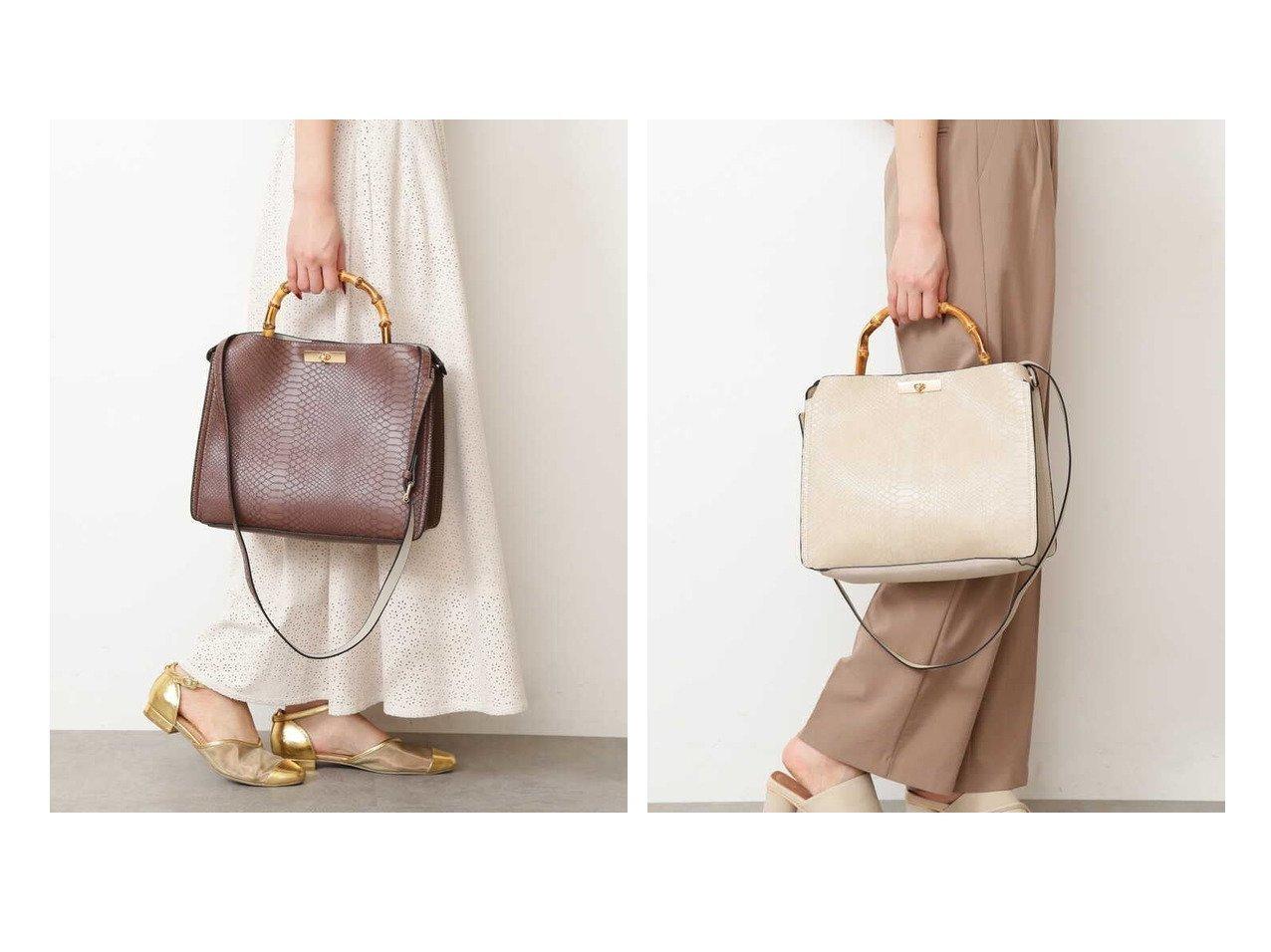 【FREE'S MART/フリーズマート】のミドルバンブーバッグ 【バッグ・鞄】おすすめ!人気、トレンド・レディースファッションの通販 | レディースファッション・服の通販 founy(ファニー)