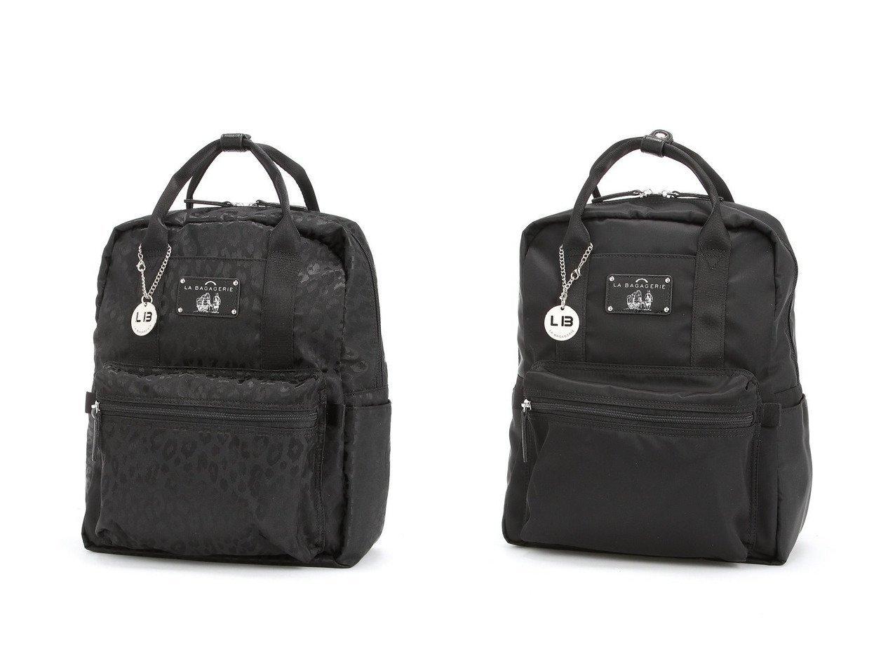 【LA BAGAGERIE/ラ バガジェリー】の10ポケット持ち手付きリュック 【バッグ・鞄】おすすめ!人気、トレンド・レディースファッションの通販 | レディースファッション・服の通販 founy(ファニー)