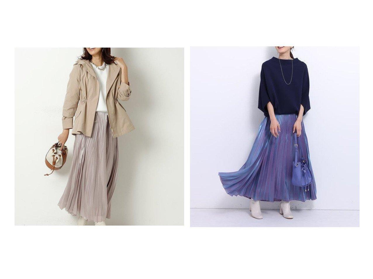 【JUSGLITTY/ジャスグリッティー】のエアリーカラープリーツスカート 【スカート】おすすめ!人気、トレンド・レディースファッションの通販  おすすめで人気の流行・トレンド、ファッションの通販商品 メンズファッション・キッズファッション・インテリア・家具・レディースファッション・服の通販 founy(ファニー) https://founy.com/ ファッション Fashion レディースファッション WOMEN スカート Skirt プリーツスカート Pleated Skirts おすすめ Recommend プリーツ 春 Spring |ID:crp329100000025509
