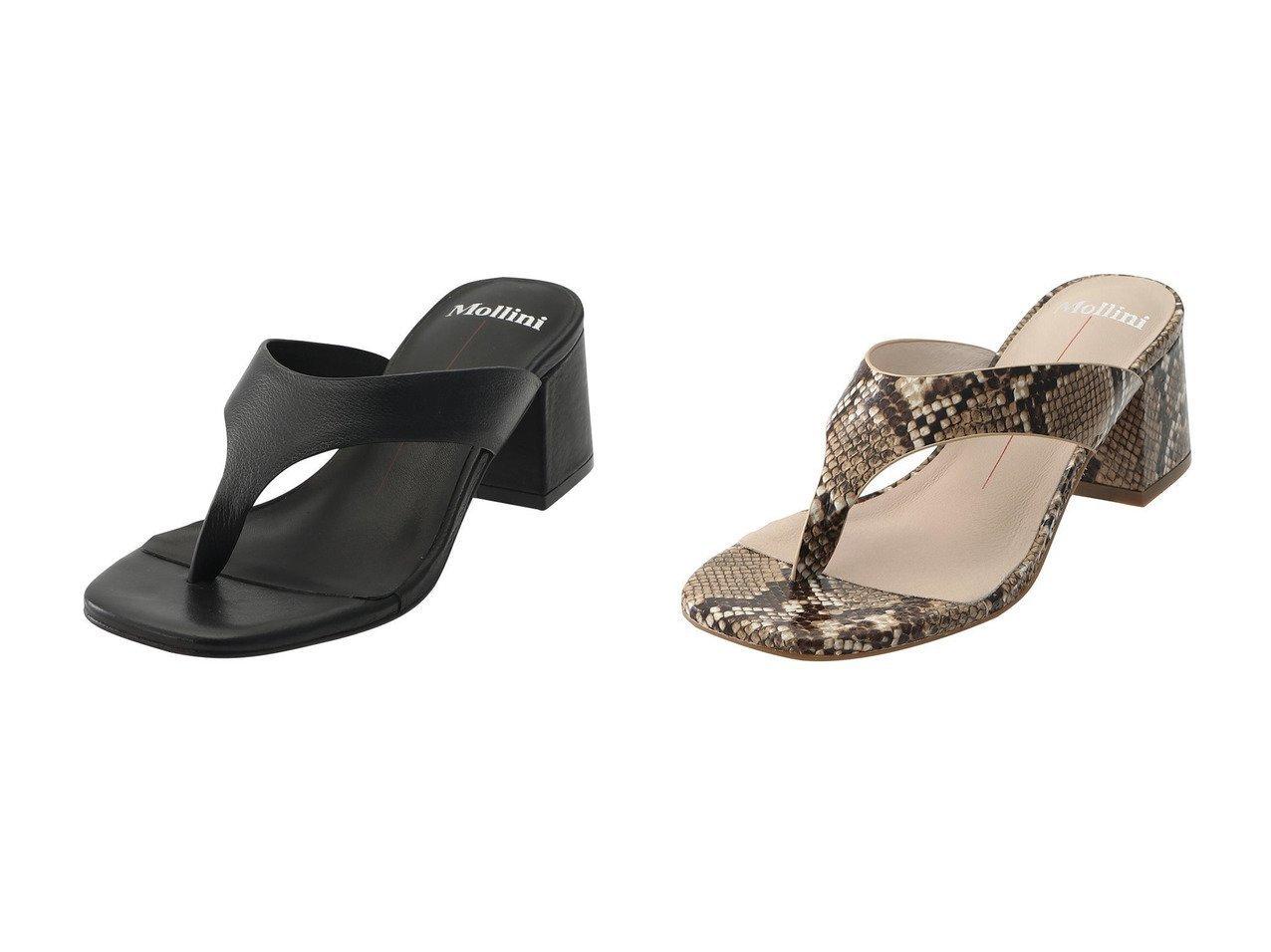 【JET/ジェット】の【Mollini】トングサンダル 【シューズ・靴】おすすめ!人気、トレンド・レディースファッションの通販  おすすめで人気の流行・トレンド、ファッションの通販商品 メンズファッション・キッズファッション・インテリア・家具・レディースファッション・服の通販 founy(ファニー) https://founy.com/ ファッション Fashion レディースファッション WOMEN 2021年 2021 2021 春夏 S/S SS Spring/Summer 2021 S/S 春夏 SS Spring/Summer なめらか エレガント サンダル 春 Spring |ID:crp329100000025511