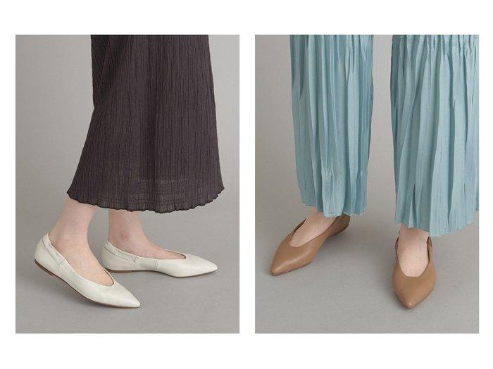 【Odette e Odile/オデット エ オディール】のOFC ギャザーゴム ポインテッド FLT10↓↑ 【シューズ・靴】おすすめ!人気、トレンド・レディースファッションの通販  おすすめ人気トレンドファッション通販アイテム インテリア・キッズ・メンズ・レディースファッション・服の通販 founy(ファニー) https://founy.com/ ファッション Fashion レディースファッション WOMEN ギャザー シューズ フィット フラット ポインテッド |ID:crp329100000025513