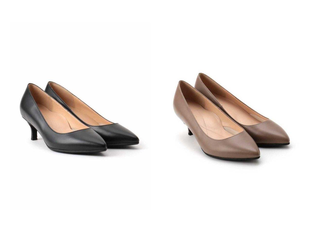 【UNTITLED/アンタイトル】の【抗菌防臭】ドレッサーパンプス(5cmヒール) 【シューズ・靴】おすすめ!人気、トレンド・レディースファッションの通販  おすすめで人気の流行・トレンド、ファッションの通販商品 メンズファッション・キッズファッション・インテリア・家具・レディースファッション・服の通販 founy(ファニー) https://founy.com/ ファッション Fashion レディースファッション WOMEN アーモンドトゥ シューズ バランス リアル 抗菌 |ID:crp329100000025514