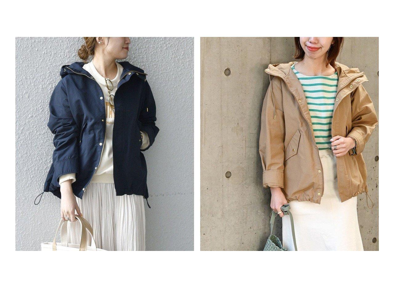 【SHIPS any/シップス エニィ】のSHIPS any フード ミディ ブルゾン 【アウター】おすすめ!人気、トレンド・レディースファッションの通販  おすすめで人気の流行・トレンド、ファッションの通販商品 メンズファッション・キッズファッション・インテリア・家具・レディースファッション・服の通販 founy(ファニー) https://founy.com/ ファッション Fashion レディースファッション WOMEN アウター Coat Outerwear ブルゾン Blouson Jackets アウトドア グログラン 今季 シフォン スピンドル デニム トレンド バランス フォルム ブルゾン 再入荷 Restock/Back in Stock/Re Arrival おすすめ Recommend |ID:crp329100000025528