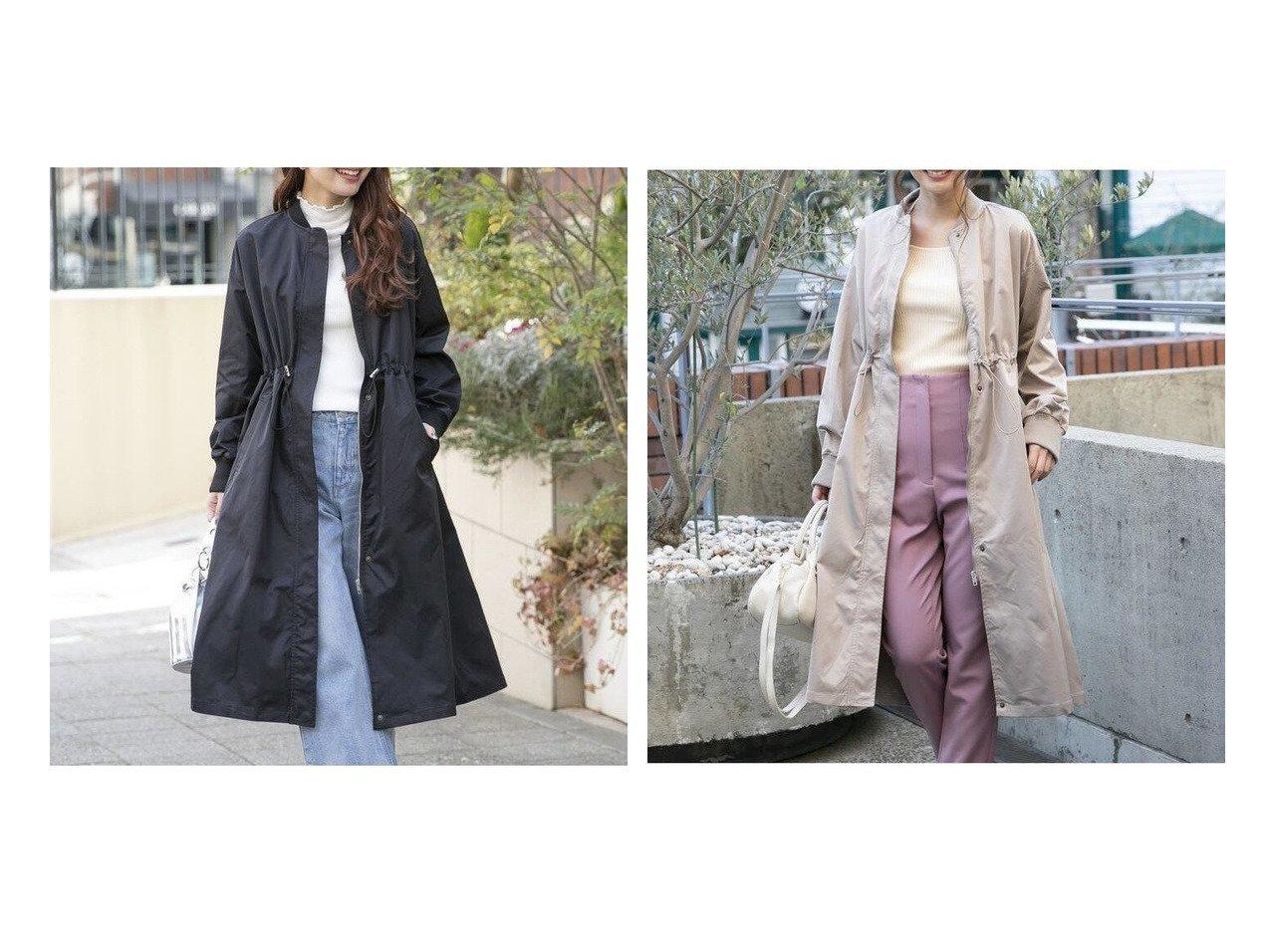 【VICKY/ビッキー】のジップアップスプリングコート《手洗い可能》 【アウター】おすすめ!人気、トレンド・レディースファッションの通販    レディースファッション・服の通販 founy(ファニー)