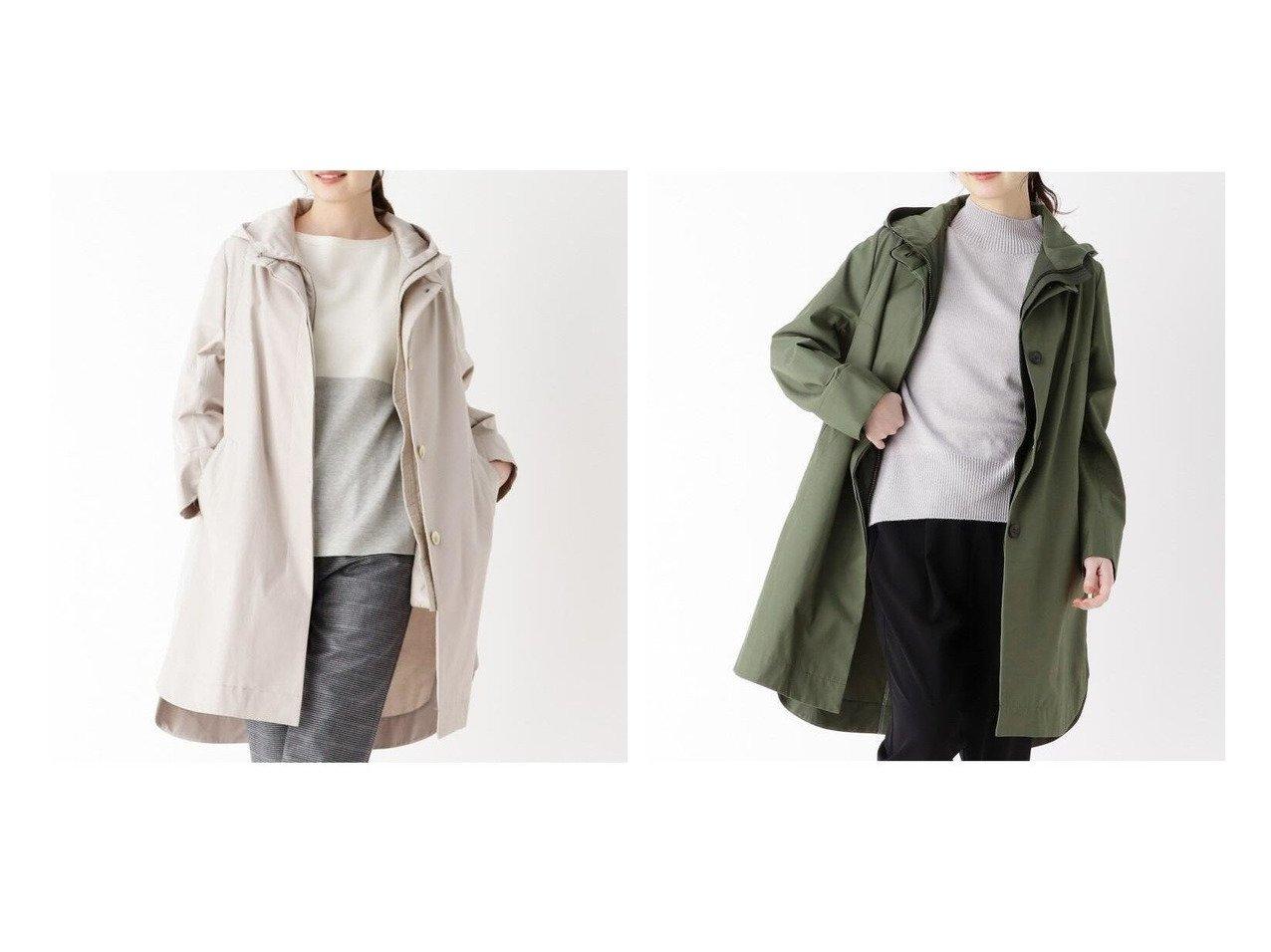 【modify/モディファイ】のクリアツイルインナーアレンジコート 【アウター】おすすめ!人気、トレンド・レディースファッションの通販    レディースファッション・服の通販 founy(ファニー)