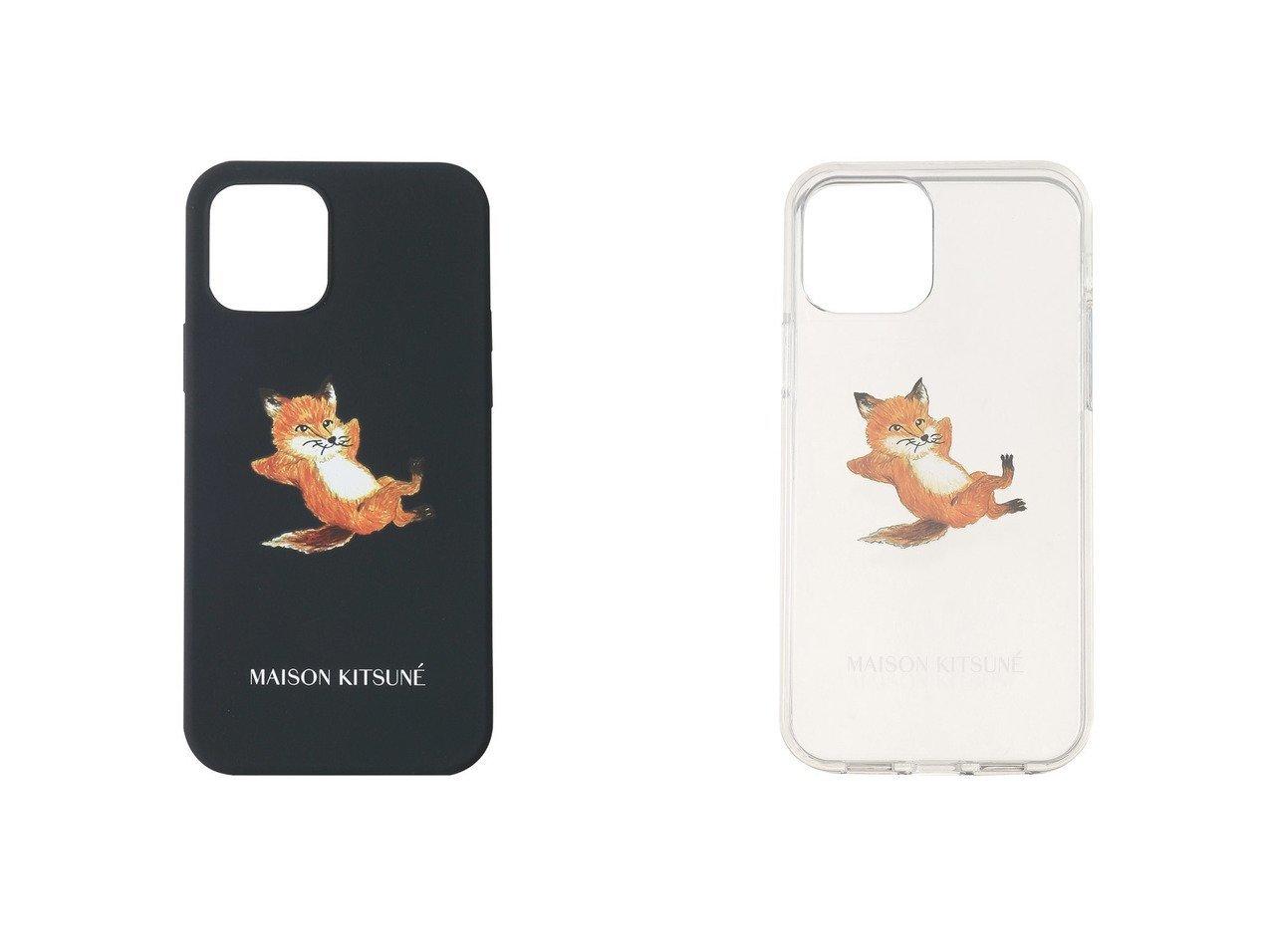 【MAISON KITSUNE/メゾン キツネ】の【UNISEX】CHILLAX FOX IPHONE CASE(iPhone12用)&【UNISEX】CHILLAX FOX TRANSPARENT IPHONE CASE(iPhone12用) おすすめ!人気、トレンド・レディースファッションの通販 おすすめで人気の流行・トレンド、ファッションの通販商品 メンズファッション・キッズファッション・インテリア・家具・レディースファッション・服の通販 founy(ファニー) https://founy.com/ ファッション Fashion レディースファッション WOMEN 2021年 2021 2021春夏・S/S SS/Spring/Summer/2021 S/S・春夏 SS・Spring/Summer UNISEX おすすめ Recommend シンプル モチーフ 春 Spring  ID:crp329100000025726