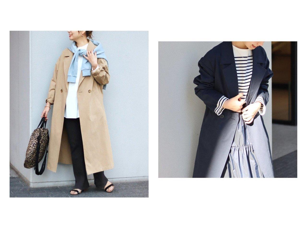 【JOURNAL STANDARD/ジャーナルスタンダード】のコットンツイル ロングコート 【アウター】おすすめ!人気、トレンド・レディースファッションの通販  おすすめで人気の流行・トレンド、ファッションの通販商品 メンズファッション・キッズファッション・インテリア・家具・レディースファッション・服の通販 founy(ファニー) https://founy.com/ ファッション Fashion レディースファッション WOMEN アウター Coat Outerwear コート Coats ジャケット Jackets ショルダー ジャケット ダブル ツイル ドロップ ロング 2021年 2021 S/S・春夏 SS・Spring/Summer 2021春夏・S/S SS/Spring/Summer/2021 |ID:crp329100000025889