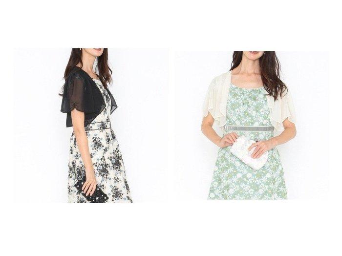 【TOCCA/トッカ】のPARTY BORELO パーティーボレロ 【アウター】おすすめ!人気、トレンド・レディースファッションの通販  おすすめファッション通販アイテム インテリア・キッズ・メンズ・レディースファッション・服の通販 founy(ファニー) https://founy.com/ ファッション Fashion レディースファッション WOMEN アウター Coat Outerwear ボレロ Bolero jackets 送料無料 Free Shipping 2020年 2020 2020春夏・S/S SS・Spring/Summer/2020 S/S・春夏 SS・Spring/Summer シンプル ドレス フェミニン フロント ボレロ レース 定番 Standard |ID:crp329100000025920