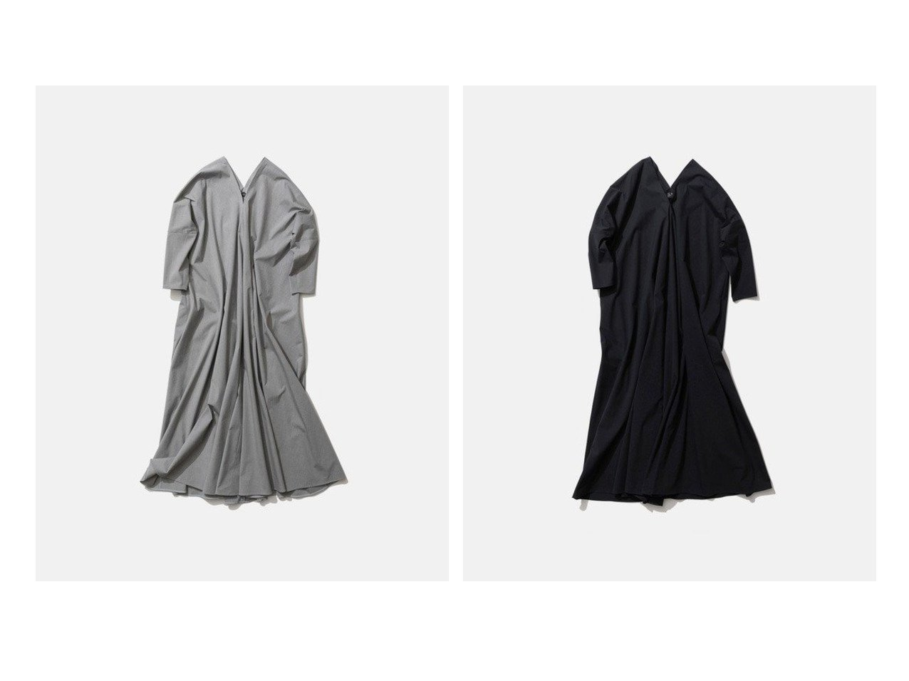 【ATON/エイトン】のSTRETCH BROAD ドレープドレス 【ワンピース・ドレス】おすすめ!人気、トレンド・レディースファッションの通販  おすすめで人気の流行・トレンド、ファッションの通販商品 メンズファッション・キッズファッション・インテリア・家具・レディースファッション・服の通販 founy(ファニー) https://founy.com/ ファッション Fashion レディースファッション WOMEN ワンピース Dress ドレス Party Dresses 送料無料 Free Shipping シンプル ストレッチ ドレス ドレープ ロング |ID:crp329100000025941