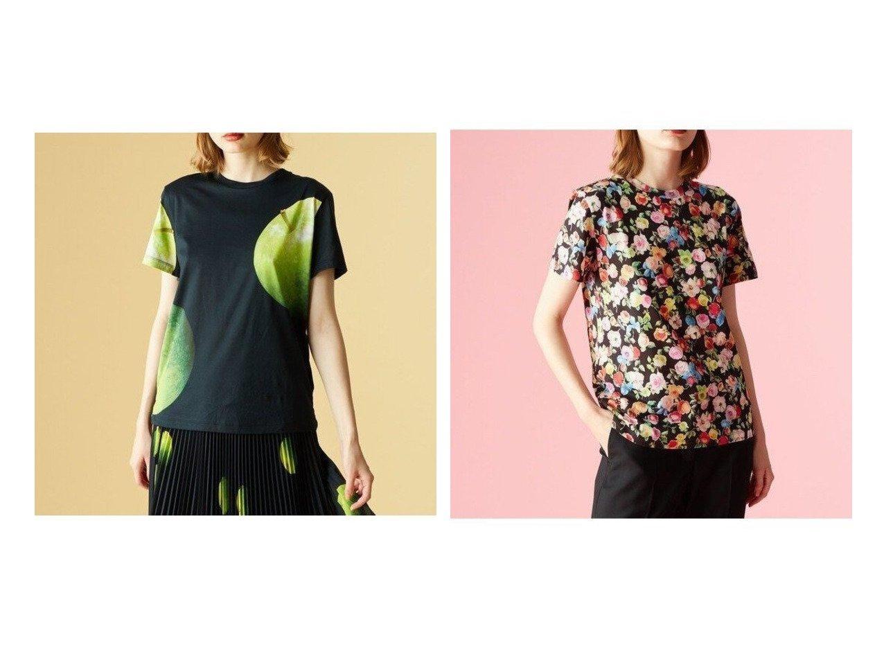 【Paul Smith/ポール スミス】の【50th Anniversary】アーカイブ Tシャツ おすすめ!人気、トレンド・レディースファッションの通販  おすすめで人気の流行・トレンド、ファッションの通販商品 メンズファッション・キッズファッション・インテリア・家具・レディースファッション・服の通販 founy(ファニー) https://founy.com/ ファッション Fashion レディースファッション WOMEN トップス・カットソー Tops/Tshirt シャツ/ブラウス Shirts/Blouses ロング / Tシャツ T-Shirts 春 Spring 洗える カットソー グラフィック コレクション シルケット スリット 定番 Standard プリント ローズ 再入荷 Restock/Back in Stock/Re Arrival S/S・春夏 SS・Spring/Summer 送料無料 Free Shipping |ID:crp329100000026015