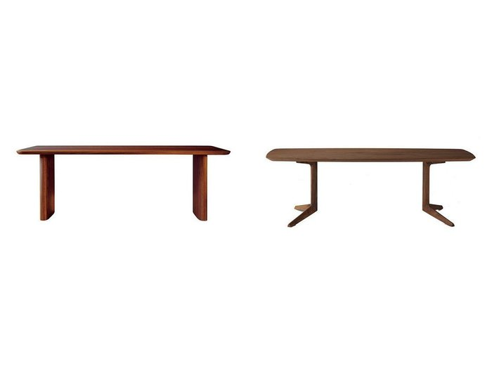 【FUJI FURNITURE/冨士ファニチア】のペルシェ リビングテーブル&ナギ ダイニングテーブル 2本脚  【FURNITURE】Made in Japan 日本製 おすすめ!人気、インテリア・家具の通販 おすすめファッション通販アイテム インテリア・キッズ・メンズ・レディースファッション・服の通販 founy(ファニー) https://founy.com/ テーブル ホームグッズ Home/Garden 家具・インテリア Furniture テーブル Table ダイニングテーブル ホームグッズ Home/Garden 家具・インテリア Furniture テーブル Table ローテーブル・センターテーブル  ID:crp329100000026114