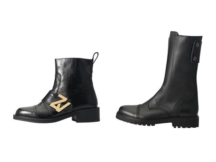 【ZADIG & VOLTAIRE/ザディグ エ ヴォルテール】のJOE HIGH SMOOTH CALFSKIN ショートブーツ&EMPRESS ZV INITIALE VINTAGE PATENT レザーブーツ 【シューズ・靴】おすすめ!人気、トレンド・レディースファッションの通販  おすすめファッション通販アイテム インテリア・キッズ・メンズ・レディースファッション・服の通販 founy(ファニー) https://founy.com/ ファッション Fashion レディースファッション WOMEN 2021年 2021 2021春夏・S/S SS/Spring/Summer/2021 S/S・春夏 SS・Spring/Summer サイドジップ ショート シンプル プレート ミドル 春 Spring |ID:crp329100000026237