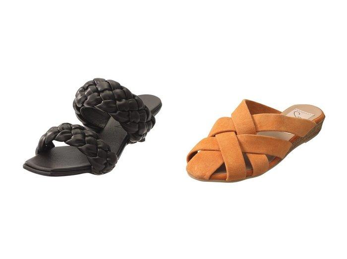 【Esmeralda/エスメラルダ】の【Gaimo】クロスデザインミュール&【martinique/マルティニーク】の【HEWN】ブレイドストラップミュール 【シューズ・靴】おすすめ!人気、トレンド・レディースファッションの通販  おすすめファッション通販アイテム レディースファッション・服の通販 founy(ファニー)  ファッション Fashion レディースファッション WOMEN 2021年 2021 2021春夏・S/S SS/Spring/Summer/2021 S/S・春夏 SS・Spring/Summer なめらか サンダル ラップ 春 Spring  ID:crp329100000026238