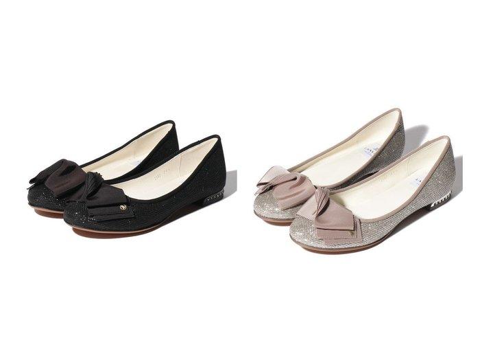 【LANVIN en Bleu/ランバン オン ブルー】のビジューヒールバレーシューズ 【シューズ・靴】おすすめ!人気、トレンド・レディースファッションの通販  おすすめファッション通販アイテム インテリア・キッズ・メンズ・レディースファッション・服の通販 founy(ファニー) https://founy.com/ ファッション Fashion レディースファッション WOMEN S/S・春夏 SS・Spring/Summer シューズ ツイスト バレエ リボン 定番 Standard 春 Spring |ID:crp329100000026263
