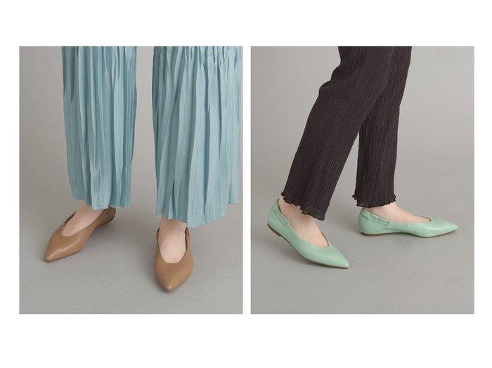 【Odette e Odile/オデット エ オディール】のOFC ギャザーゴム ポインテッド FLT10↓↑ 【シューズ・靴】おすすめ!人気、トレンド・レディースファッションの通販  おすすめ人気トレンドファッション通販アイテム インテリア・キッズ・メンズ・レディースファッション・服の通販 founy(ファニー) https://founy.com/ ファッション Fashion レディースファッション WOMEN ギャザー シューズ フィット フラット ポインテッド 再入荷 Restock/Back in Stock/Re Arrival |ID:crp329100000026264