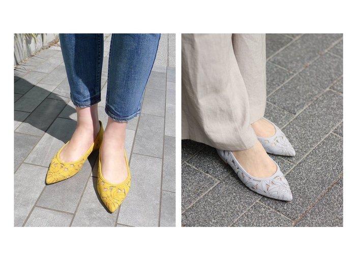 【Le Talon/ル タロン】の2.5cmフラワーカットワークフラット 【シューズ・靴】おすすめ!人気、トレンド・レディースファッションの通販  おすすめファッション通販アイテム インテリア・キッズ・メンズ・レディースファッション・服の通販 founy(ファニー) https://founy.com/ ファッション Fashion レディースファッション WOMEN 2020年 2020 2020春夏・S/S SS・Spring/Summer/2020 S/S・春夏 SS・Spring/Summer インソール クッション シューズ チュール ワーク 再入荷 Restock/Back in Stock/Re Arrival 春 Spring |ID:crp329100000026267