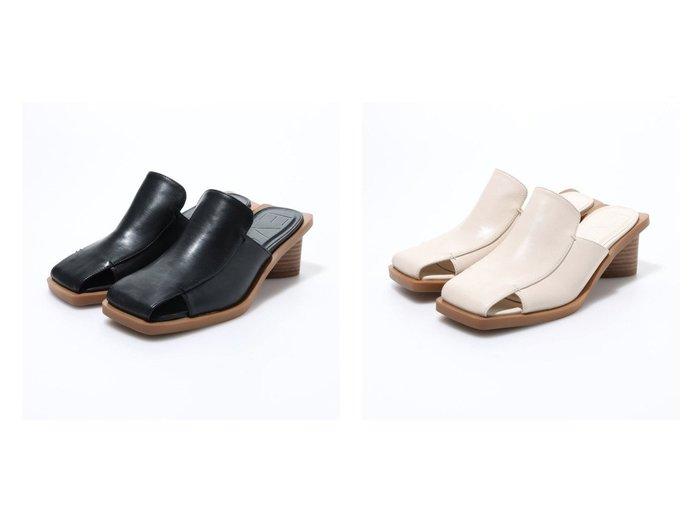 【EVOL/イーボル】のスクエアミュール 【シューズ・靴】おすすめ!人気、トレンド・レディースファッションの通販  おすすめファッション通販アイテム レディースファッション・服の通販 founy(ファニー) ファッション Fashion レディースファッション WOMEN おすすめ Recommend サンダル シューズ シンプル トレンド ミュール |ID:crp329100000026269