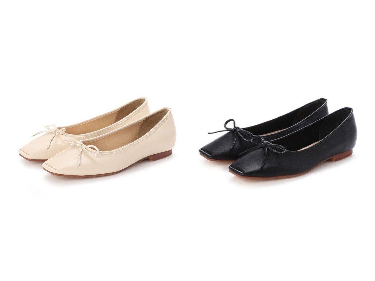 【EVOL/イーボル】のスクエアバレエパンプス 【シューズ・靴】おすすめ!人気、トレンド・レディースファッションの通販  おすすめで人気の流行・トレンド、ファッションの通販商品 メンズファッション・キッズファッション・インテリア・家具・レディースファッション・服の通販 founy(ファニー) https://founy.com/ ファッション Fashion レディースファッション WOMEN おすすめ Recommend シューズ スクエア バレエ |ID:crp329100000026273