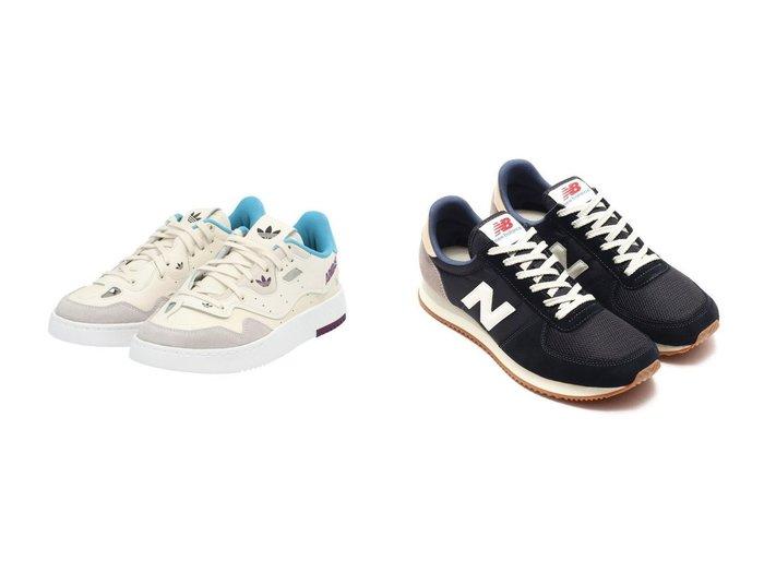 【new balance/ニューバランス】のNew Balance U220DG2&【adidas Originals/アディダス オリジナルス】のスーパーコート XX Supercourt XX アディダスオリジナルス FX5764 【シューズ・靴】おすすめ!人気、トレンド・レディースファッションの通販  おすすめ人気トレンドファッション通販アイテム 人気、トレンドファッション・服の通販 founy(ファニー) ファッション Fashion レディースファッション WOMEN アウター Coat Outerwear コート Coats NEW・新作・新着・新入荷 New Arrivals グラフィック シューズ スニーカー スポーツ スリッポン フィット ベスト ミックス レギュラー レース |ID:crp329100000026279