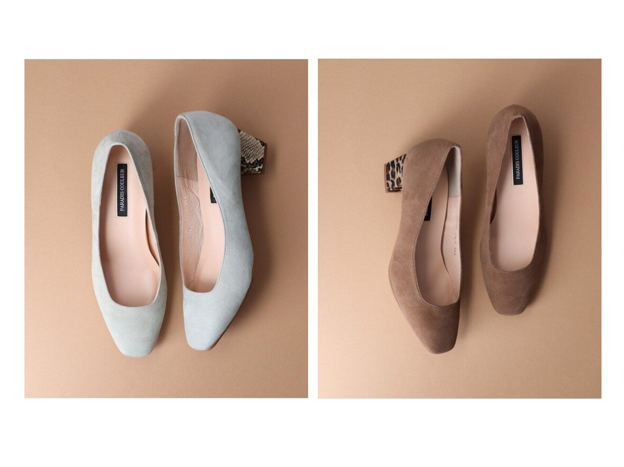 【Bridget Birkin/ブリジット バーキン】の【PARADIS COULEUR】スクエアカットプレーンパンプス 【シューズ・靴】おすすめ!人気、トレンド・レディースファッションの通販  おすすめで人気の流行・トレンド、ファッションの通販商品 メンズファッション・キッズファッション・インテリア・家具・レディースファッション・服の通販 founy(ファニー) https://founy.com/ ファッション Fashion レディースファッション WOMEN 送料無料 Free Shipping スクエア |ID:crp329100000026280