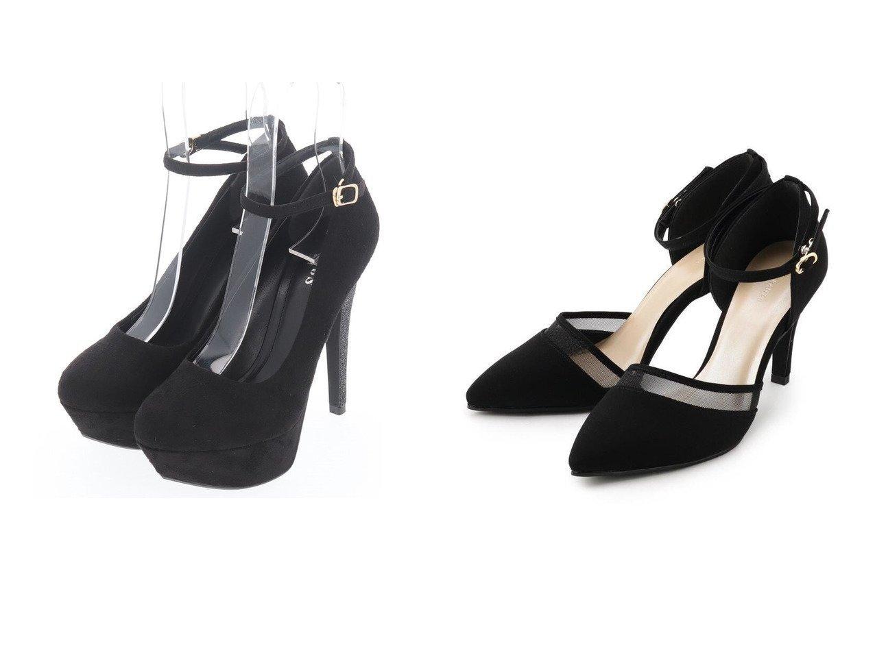 【salire/サリア】のラメヒールパンプス&【ESPERANZA/エスペランサ】のシースルーラインセパレートパンプス 【シューズ・靴】おすすめ!人気、トレンド・レディースファッションの通販  おすすめファッション通販アイテム インテリア・キッズ・メンズ・レディースファッション・服の通販 founy(ファニー)  ファッション Fashion レディースファッション WOMEN NEW・新作・新着・新入荷 New Arrivals シューズ ストラップパンプス バランス 春 Spring グリッター セパレート ハイヒール フロント 再入荷 Restock/Back in Stock/Re Arrival S/S・春夏 SS・Spring/Summer ブラック系 Black ブルー系 Blue ホワイト系 White ベージュ系 Beige |ID:crp329100000026300