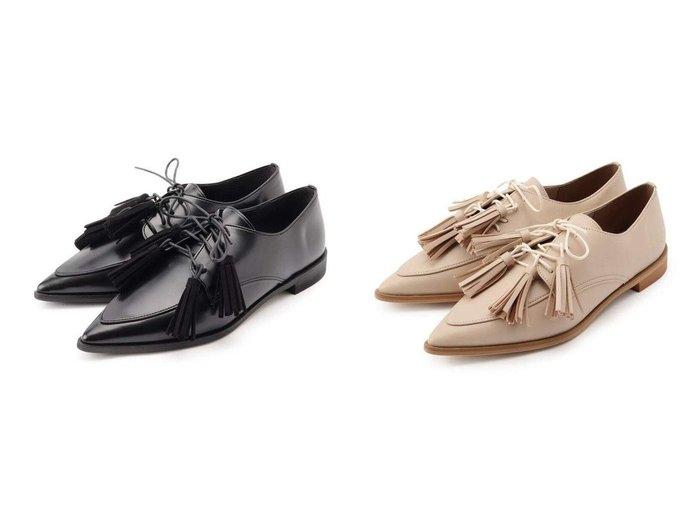 【ESPERANZA/エスペランサ】のメニ-タッセルマニッシュシューズ 【シューズ・靴】おすすめ!人気、トレンド・レディースファッションの通販  おすすめ人気トレンドファッション通販アイテム インテリア・キッズ・メンズ・レディースファッション・服の通販 founy(ファニー) https://founy.com/ ファッション Fashion レディースファッション WOMEN シュシュ / ヘアアクセ Hair Accessories シューズ レース |ID:crp329100000026310