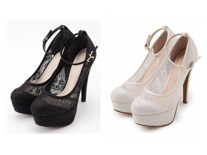 【ESPERANZA/エスペランサ】のシースルーレースハイヒールパンプス 【シューズ・靴】おすすめ!人気、トレンド・レディースファッションの通販  おすすめファッション通販アイテム レディースファッション・服の通販 founy(ファニー) ファッション Fashion レディースファッション WOMEN シューズ ハイヒール フォルム |ID:crp329100000026311