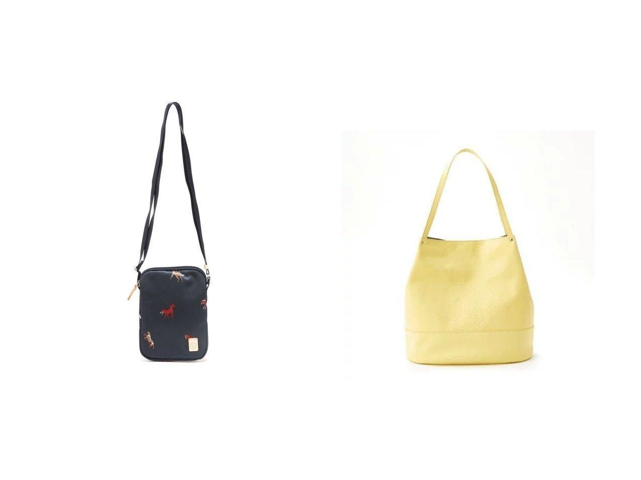 【russet/ラシット】のフォーンバッグ(Z-647)&モノグラムプレスバケットトートバッグ(CE-818) 【バッグ・鞄】おすすめ!人気、トレンド・レディースファッションの通販  | レディースファッション・服の通販 founy(ファニー)