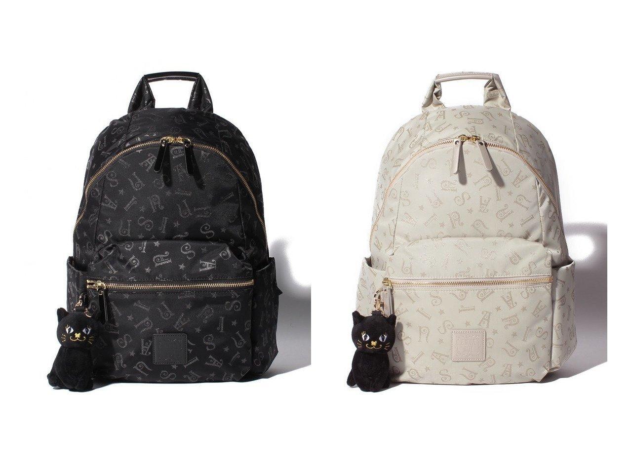 【ANNA SUI/アナスイ】のホーリー リュック 【バッグ・鞄】おすすめ!人気、トレンド・レディースファッションの通販  | レディースファッション・服の通販 founy(ファニー)