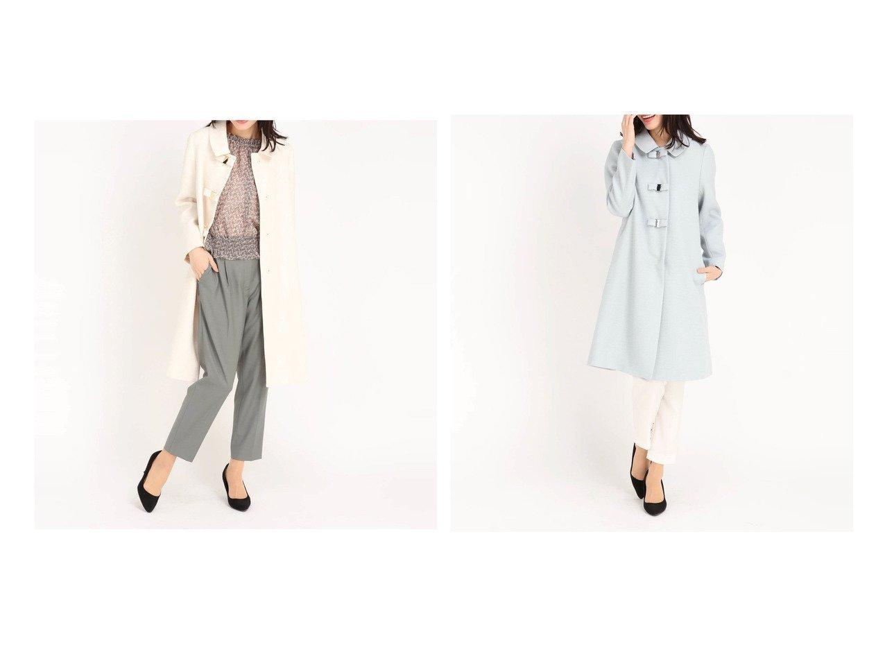 【UNIVERVAL MUSE/ユニバーバル ミューズ】のシダーツィード 【アウター】おすすめ!人気、トレンド・レディースファッションの通販  おすすめで人気の流行・トレンド、ファッションの通販商品 メンズファッション・キッズファッション・インテリア・家具・レディースファッション・服の通販 founy(ファニー) https://founy.com/ ファッション Fashion レディースファッション WOMEN アウター Coat Outerwear コート Coats シンプル フェミニン 春 Spring  ID:crp329100000026435