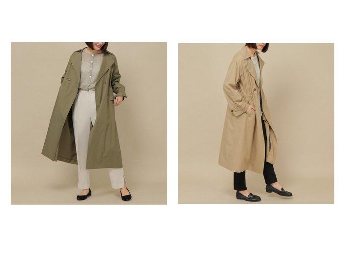 【ikka/イッカ】のオーガニックコットンゆるトレンチコート 【アウター】おすすめ!人気、トレンド・レディースファッションの通販  おすすめファッション通販アイテム レディースファッション・服の通販 founy(ファニー)  ファッション Fashion レディースファッション WOMEN アウター Coat Outerwear コート Coats ジャケット Jackets トレンチコート Trench Coats ジャケット ロング |ID:crp329100000026445