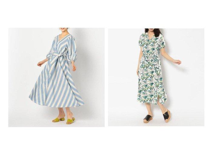 【RAWLIFE/ロウライフ】のアロハ ブロッサム/ PALM TREE ONE PIECE&【NOLLEY'S/ノーリーズ】の麻混ワイドストライプワンピース 【ワンピース・ドレス】おすすめ!人気、トレンド・レディースファッションの通販  おすすめファッション通販アイテム レディースファッション・服の通販 founy(ファニー)  ファッション Fashion レディースファッション WOMEN ワンピース Dress ストライプ バイアス フレア ワイド 春 Spring アロハ 雑誌 ドレス ネオン フランス ワーク |ID:crp329100000026497