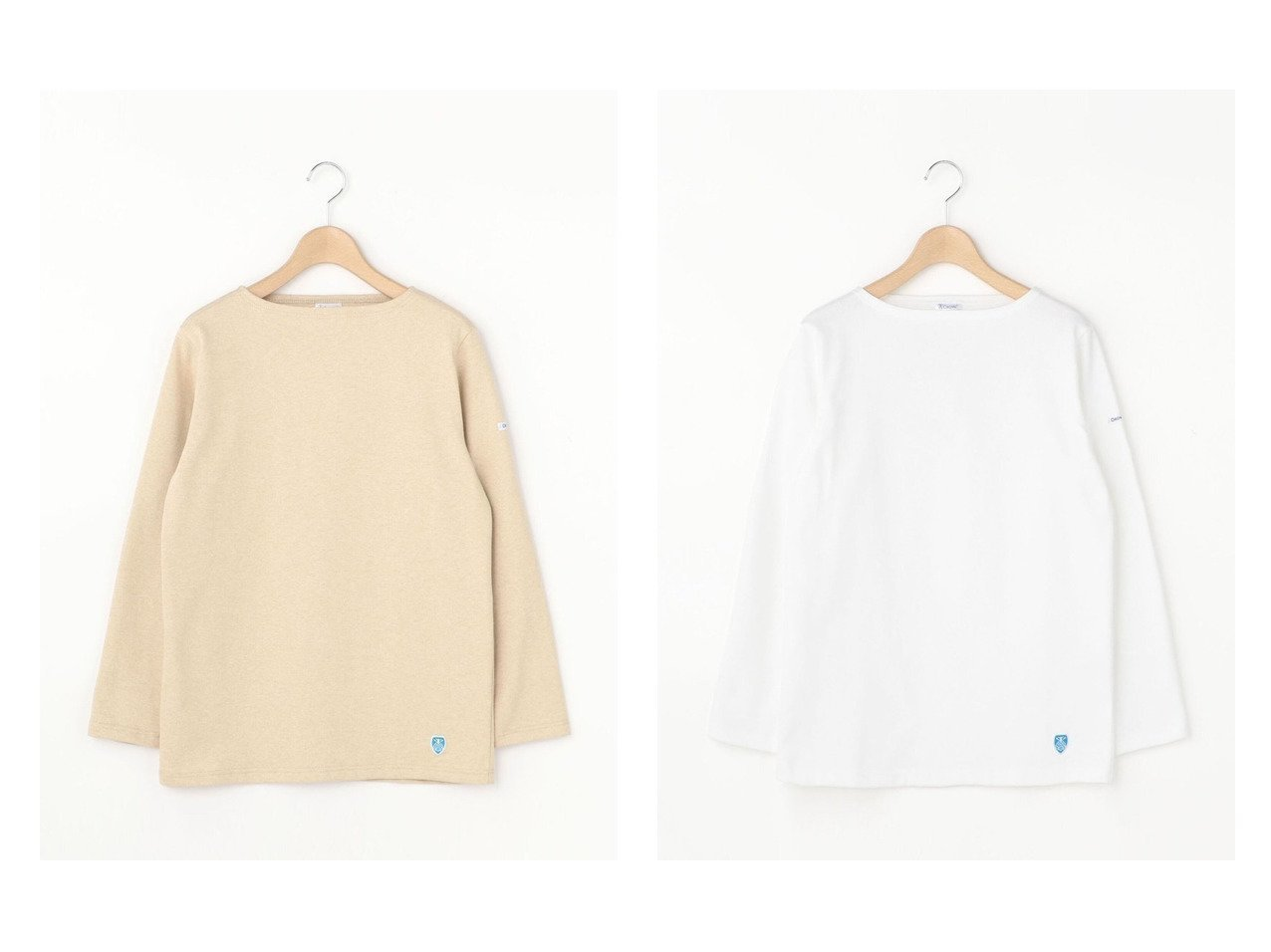【Bshop/ビショップ】の【ORCIVAL】コットンロードフレンチバスクシャツ SOLID WOMEN 【トップス・カットソー】おすすめ!人気、トレンド・レディースファッションの通販 | レディースファッション・服の通販 founy(ファニー)