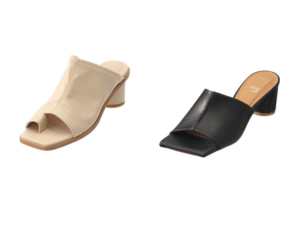 【HENRI EN VARGO/ヘンリ エン ヴァーゴ】のRola スクエアトゥミュール&【GALLARDAGALANTE/ガリャルダガランテ】のストレッチミュール 【シューズ・靴】おすすめ!人気、トレンド・レディースファッションの通販  おすすめで人気の流行・トレンド、ファッションの通販商品 メンズファッション・キッズファッション・インテリア・家具・レディースファッション・服の通販 founy(ファニー) https://founy.com/ ファッション Fashion レディースファッション WOMEN 2021年 2021 2021春夏・S/S SS/Spring/Summer/2021 S/S・春夏 SS・Spring/Summer ストレッチ トレンド ミュール 春 Spring  ID:crp329100000026780